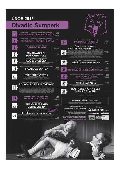 Divadlo Šumperk - aktuální program ve formátu PDF