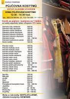 Ceník půjčovny kostýmů