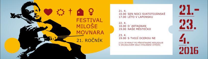 Festival Miloše Movnara - 21.ročník