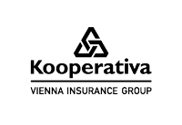 Kooperativa - logo černé